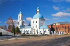 Iglesia del anuncio en Zaraysk Fotos de archivo libres de regalías