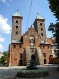 """Iglesia del anuncio a la Virgen María bendecida en el 'Ä de SK nad WisÅ del """"de CzerwiÅ… en Polonia Imagenes de archivo"""