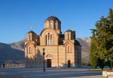 Iglesia del anuncio. Monasterio de Hercegovacka Gracanica. Fotos de archivo libres de regalías