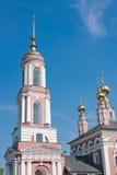 Iglesia del arcángel Mikhail y flora y Lavra Imagen de archivo