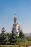Iglesia del arcángel Mikhail y flora y Lavra, ciudad Suzdal Fotografía de archivo libre de regalías