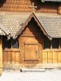 Iglesia del bastón de Heddal fotografía de archivo libre de regalías
