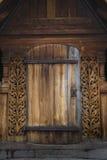 Iglesia del bastón de Heddal imagen de archivo