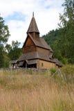 Iglesia del bastón de Urnes Imágenes de archivo libres de regalías