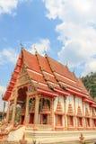 Iglesia del budismo Wat Phra That Khao Noi, provincia de NaN, o del norte Foto de archivo libre de regalías