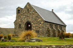 Iglesia del buen pastor - lago Tekapo Imagen de archivo libre de regalías