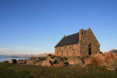 Iglesia del buen Shepard, Tekapo, Nueva Zelandia Imagen de archivo libre de regalías