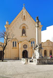 Iglesia del capuchón en Bratislava Fotos de archivo