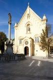 Iglesia del capuchón en Bratislava Imagenes de archivo
