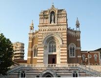 Iglesia del capuchón en Rijeka, Croacia Imagen de archivo libre de regalías