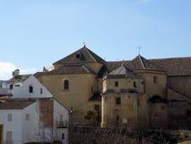 Iglesia del Carmen-Alhama de Granada. Andalusia Royalty Free Stock Image