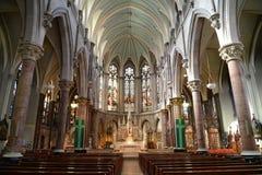 Iglesia del carril de Juan dentro Foto de archivo libre de regalías