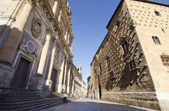 Iglesia del clero Foto de archivo