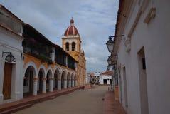 Iglesia del concepto santo, Mompox imágenes de archivo libres de regalías