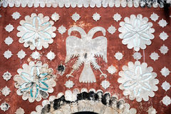 Iglesia del convento de St Dominic en Uayma, México Imagenes de archivo