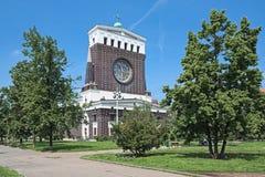 Iglesia del corazón más sagrado de nuestro señor en Praga, República Checa imagenes de archivo