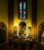 Iglesia del corazón sagrado de Jesús en Bolonia, Italia Foto de archivo libre de regalías