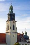 Iglesia del corazón sagrado de Jesús en Bydgoszcz - Polonia Imagen de archivo