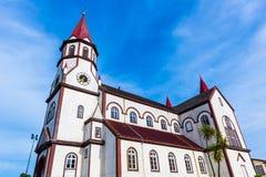 Iglesia del corazón sagrado, Puerto Varas, Chile fotos de archivo libres de regalías