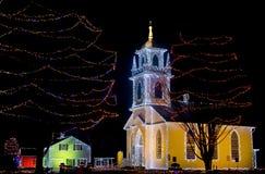 Iglesia del día de fiesta fotografía de archivo