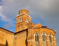 Iglesia del dei Frari de Santa María Gloriosa Fotografía de archivo libre de regalías