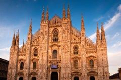Iglesia del Duomo Foto de archivo