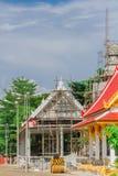 Iglesia del edificio en el templo Fotografía de archivo