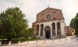 Iglesia del Eremitani, Padua Fotografía de archivo