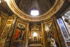 Iglesia del Gesu, Roma, Italia Foto de archivo libre de regalías