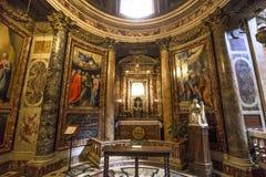 Iglesia del Gesu, Roma, Italia Fotos de archivo libres de regalías