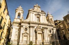 Iglesia del Girolamini, Nápoles Fotografía de archivo libre de regalías
