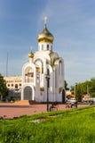 Iglesia del gran mártir Jorte el victorioso Foto de archivo libre de regalías