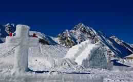 Iglesia del hielo Imágenes de archivo libres de regalías
