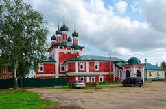 Iglesia del icono de nuestra señora de Smolensk, Uglich, Rusia Imagen de archivo libre de regalías