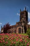 Iglesia del inglés del siglo XV imagen de archivo