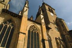 Iglesia del l'Abbaye de Santo-Antoine Imagen de archivo libre de regalías