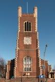 Iglesia del ladrillo rojo Fotos de archivo