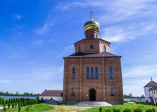 Iglesia del monasterio Imagen de archivo