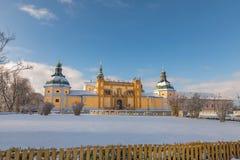 Iglesia del monasterio barroco en Svata Hora - la montaña santa Pribram, República Checa Imagen de archivo libre de regalías
