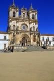 Iglesia del monasterio de Alcobaca, Alcobaca, Portugal Foto de archivo