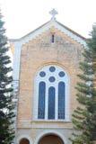 Iglesia del monasterio de Latrun, Israel Fotos de archivo