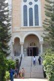 Iglesia del monasterio de Latrun, Israel Foto de archivo libre de regalías
