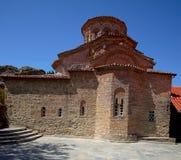 Iglesia del monasterio del monasterio de Roussanou imágenes de archivo libres de regalías