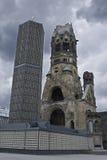 Iglesia del monumento de Kaiser Guillermo Fotos de archivo libres de regalías