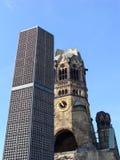 Iglesia del monumento de Kaiser Guillermo Fotografía de archivo