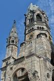 Iglesia del monumento de Kaiser Wilhelm imagenes de archivo