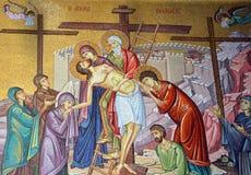 Iglesia del mosaico de Santo Sepulcro imagen de archivo libre de regalías