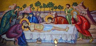Iglesia del mosaico de Santo Sepulcro fotos de archivo libres de regalías