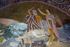 Iglesia del mosaico de Santo Sepulcro imagen de archivo