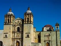 Iglesia del ¡n, Oaxaca, México de Santo Domingo de Guzmà foto de archivo